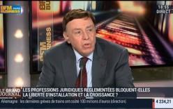 Professions Règlementées – Daniel-Julien NOËL, Président de la CNPL invité de BFM Business.