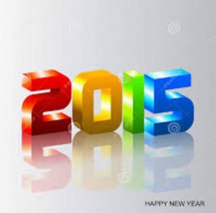……   Bonne année 2015 !