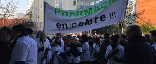 PHARMACIENS – Mobilisation du 26 janvier réussie pour l'USPO, membre de la CNPL