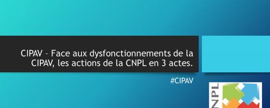 CIPAV ACTE III – Tournons la page et travaillons dans la transparence; dans l'intérêt de tous.