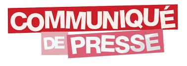 Communiqué de Presse – 4 janvier 2020